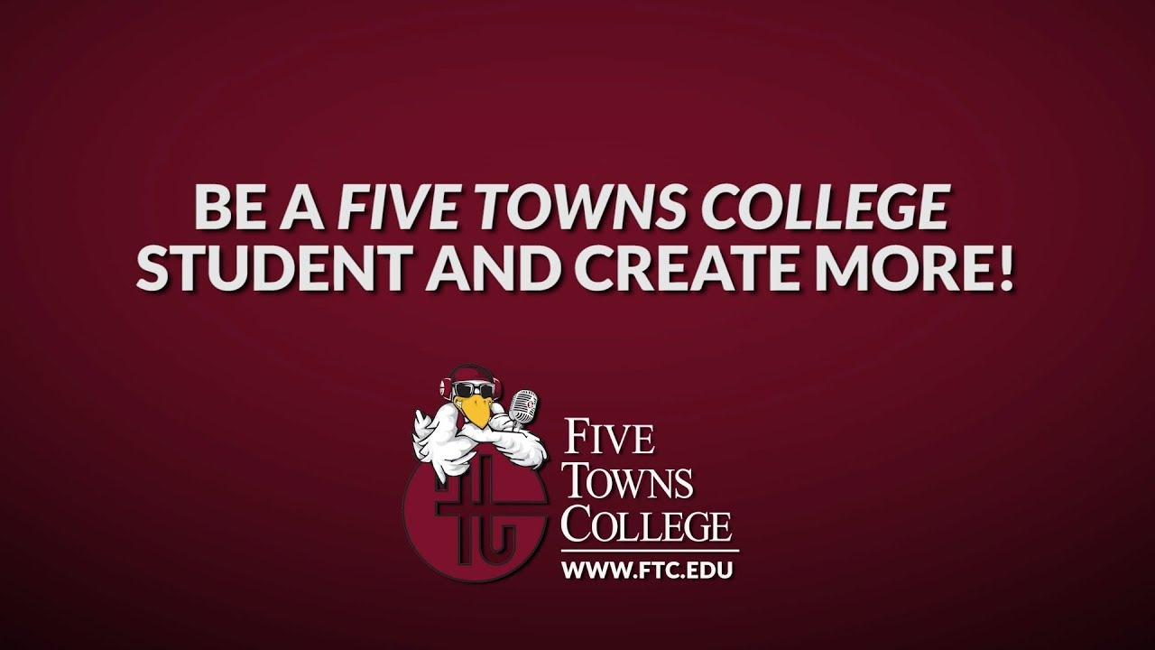 Social Media Posts for Five Towns College