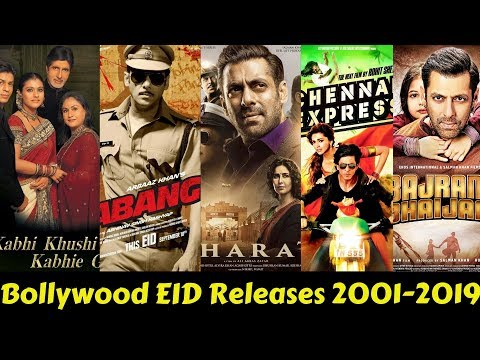 All Bollywood EID Releases From 2001 to 2019 With Box Office Collection and Verdict Mp3