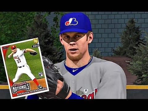 MLB The Show 16 - FLASHBACK STEPHEN STRASBURG DEBUT! - Diamond Dynasty #19