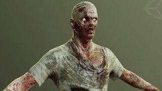 [Timelapse] Zombie sculpt in Zbrush for horror-game on Unity 5