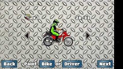 Gameplay de jogo de empinar moto-muito top!!!!!!