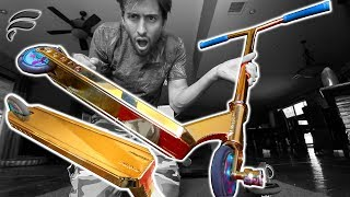 NEW GOLD CUSTOM SCOOTER! *EXPENSIVE*