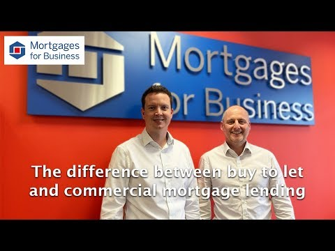 The Difference Between Buy To Let And Commercial Mortgage Lending