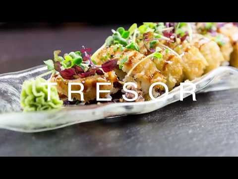 """Stay Fresh"" created by Sushi Meister of the TresOr Restaurant Hannover"