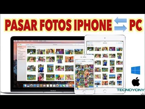Como pasar Fotos del iPhone al PC 2017 I Pasar fotos del PC al iPhone sin iTunes