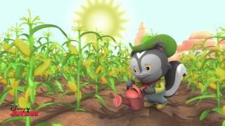 Sheriff Callie - Hot Hot Heat Song - Disney Junior UK HD