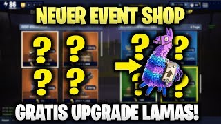 Gambar cover 💥 EVENT SHOP UPDATE | GRATIS UPGRADE LAMAS! | VORTEIL-FIX/PLUS & MEHR! | FORTNITE