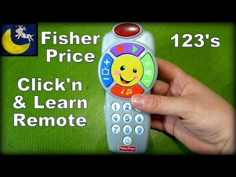 fisher price laugh learn click 39 n learn remote control review youtube. Black Bedroom Furniture Sets. Home Design Ideas