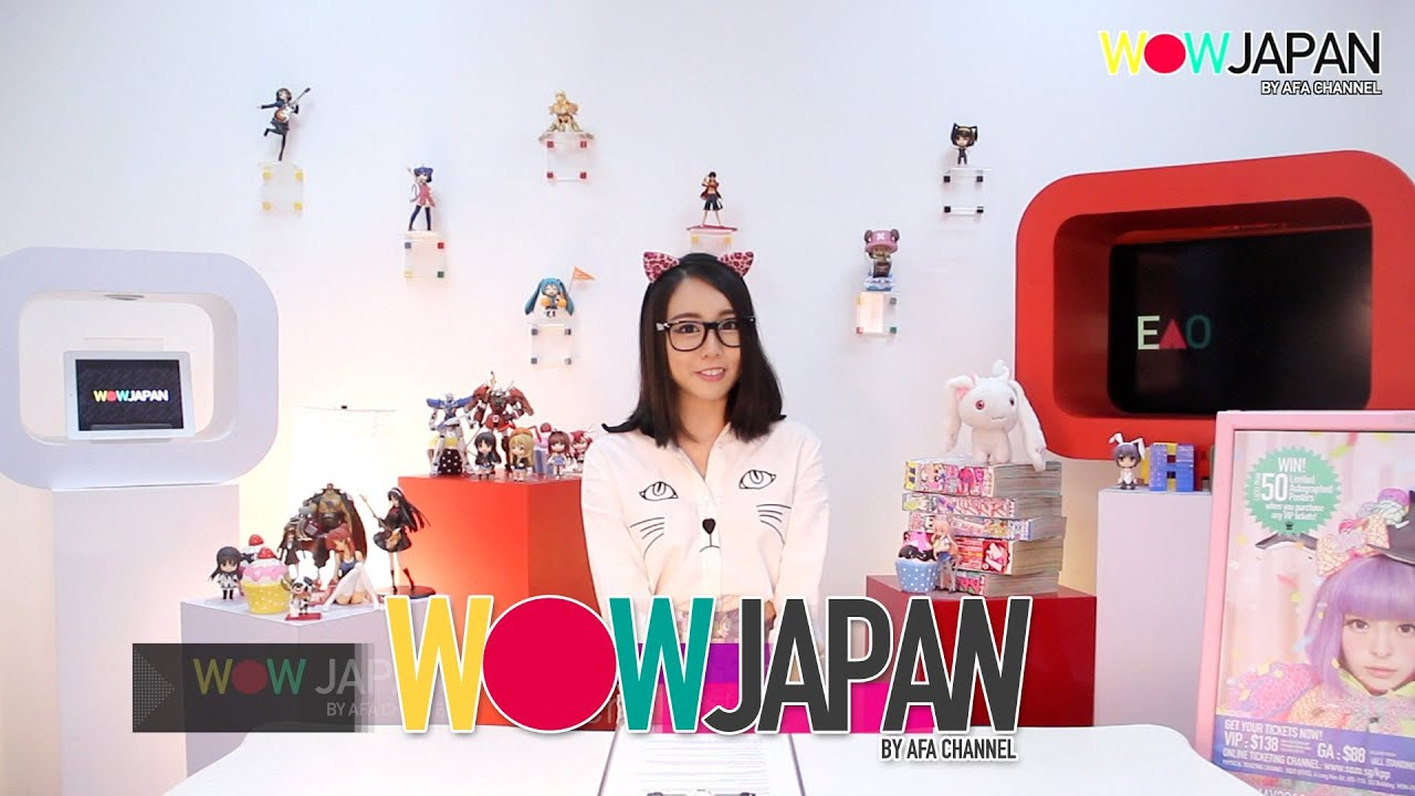 WOW JAPAN by AFA CHANNEL EP#01 - SCANDAL Singapore Concert, Sushi Airways, Harajuku Fashion
