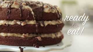 German Chocolate Cake You Can't Resist