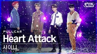 [안방1열 직캠4K] 샤이니 'Heart Attack' 풀캠 (SHINee Full Cam)│@SBS Inkigayo_2021.02.28.
