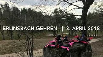 Erlinsbach Gehren | FPV Race Training | April 2018