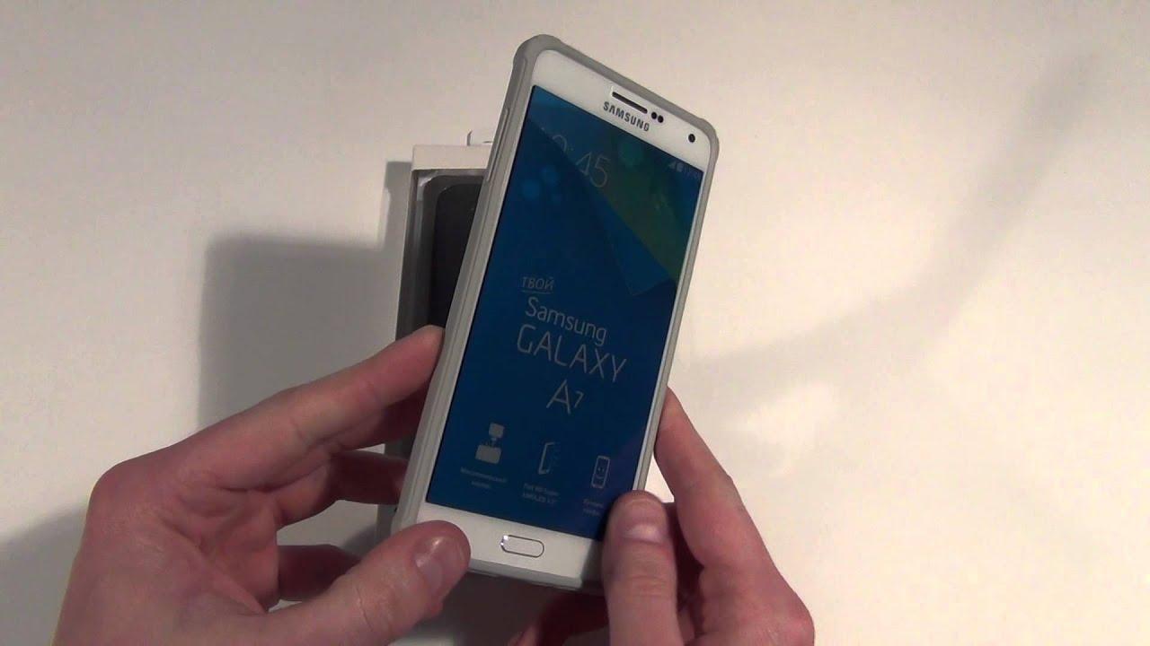 Оригинальный чехол для Samsung Galaxy A7 SM-A700FD Protective .