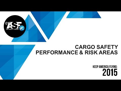 Cargo Safety Performance & Risk Areas