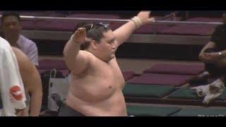 Terunofuji v Daishomune Day 2 Natsu basho 13 May 2019 (Sandanme) Fo...