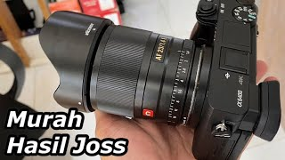 Review Lensa Viltrox AF 23mm f1.4 E for Sony