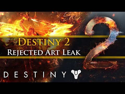 Destiny - Leaked: Destiny 2's rejected trailer art stills! New Supers? New Story?