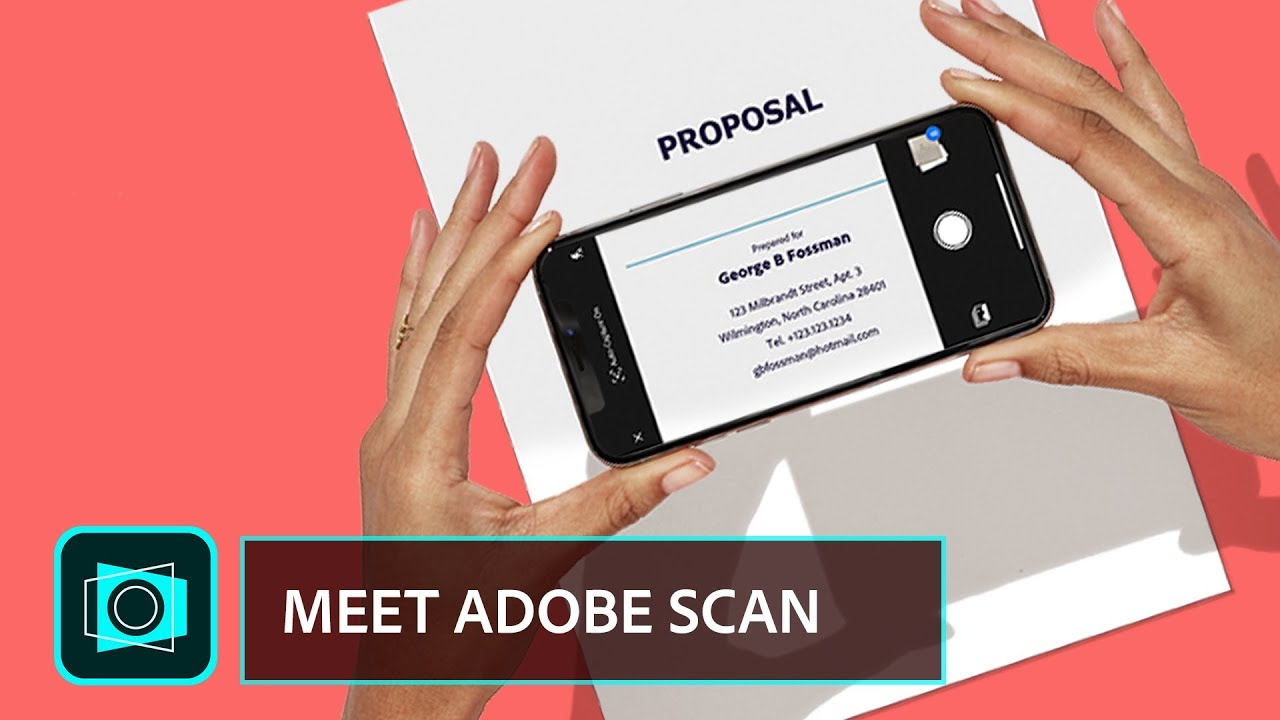 Meet Adobe Scan  The free scan app with text recognition superpowers  |  Adobe Document Cloud