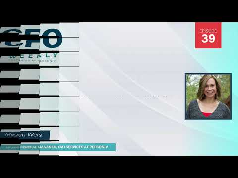 Megan's Career Journey w/Megan Weis | CFO Weekly, Ep. 39