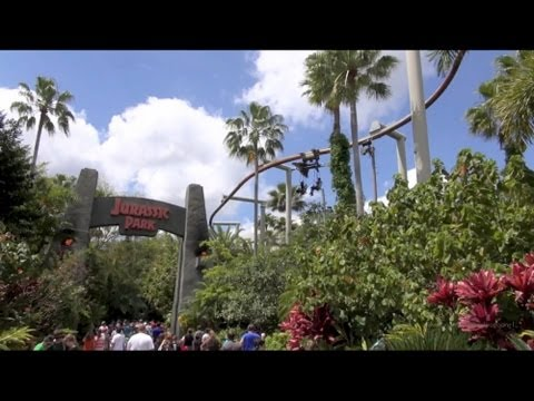 Pteranodon Flyers Full Ride POV Islands of Adventure Universal Orlando Resort HD 1080p