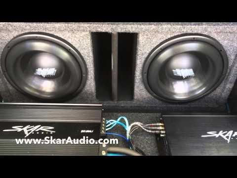 Skar Audio Unboxing Video : New DDX-10 1000 Watt RMS Woofer