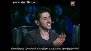 X Factor4 Armenia Diary19/Grigor Galajyan 22 11 2016