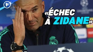 Zinedine Zidane en grand danger au Real Madrid | Revue de presse