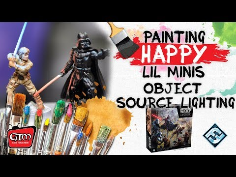 Painting Happy Lil Minis, Star Wars Legion, Object Source Lighting ft.  Jeff Jenkins