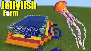 How to Make a Jellyfish Farm | Minecraft PE