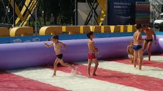 водный футбол в summer Park
