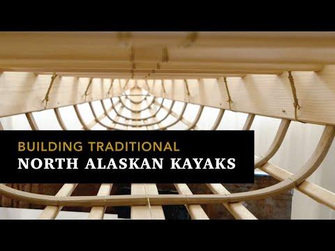 Building Traditional North Alaskan Hunting Kayak Frames, Step By Step