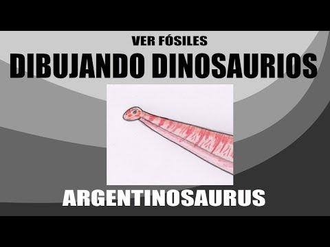 Dibujando Dinosaurios - Argentinosaurus