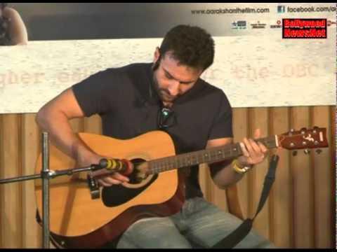 Bollywood actor Saif Ali Khan is an outstanding guitarist