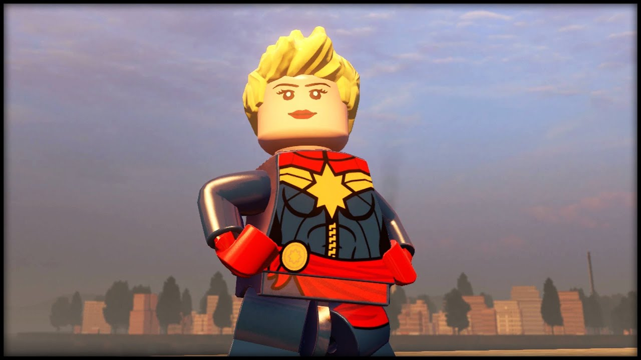 captain marvel lego avengers