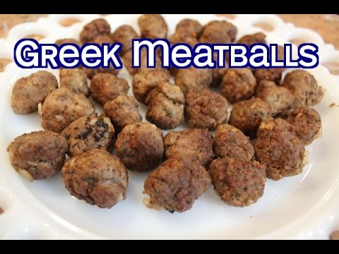Poppou's Authentic Greek Meatball Recipe (Keftethes)