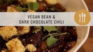 Vegan Bean & Dark Chocolate Chili - Superfoods
