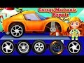 Animation Cartoons - Kids Garage Wheels  | Cars Factory for Children - Car Driving for Kids