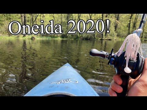 MULTI-Species KAYAK Fishing! (Oneida Lake Trip 2020)