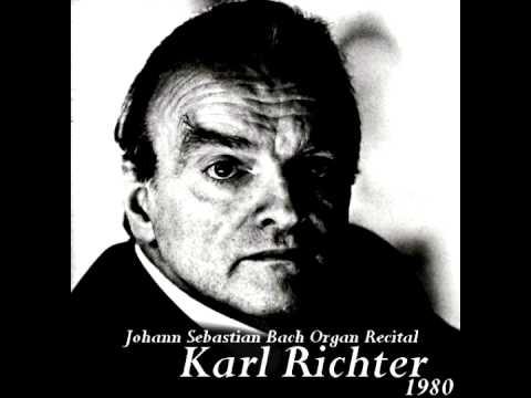 Karl Richter - Trio Sonata No.6 In G Major - BWV 530 (1980)