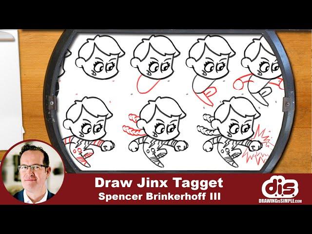 DrawingIsSimple: Jinx Tagget part 02