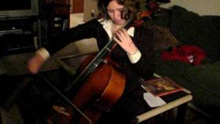 Mila Phipps Plays Cello Ode to Joy