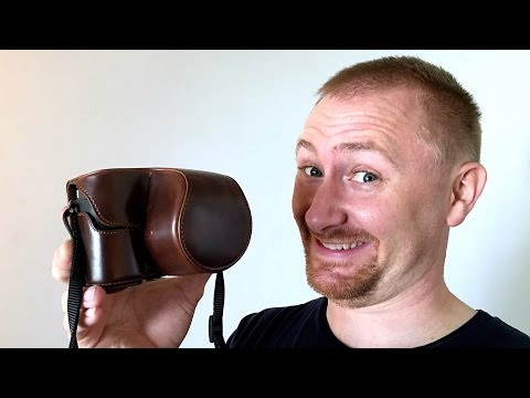 MINICO Full Leather Case for Sony A6300 Review