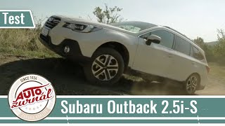 Subaru Outback 2.5i-S TEST 2019: Jednoducho vlajková loď