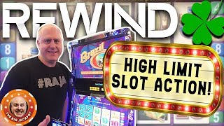 🍀ACTION PACKED! 🍀High Limit Slot Play 🎰REWIND! HUGE JACKPOT$! | The Big Jackpot