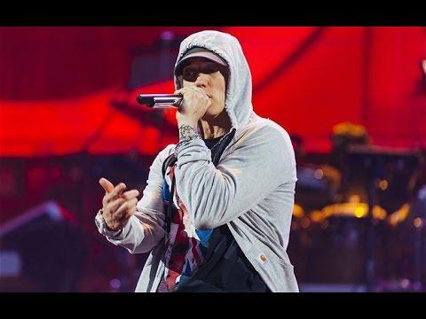 Eminem live at Wembley Stadium 11th July 2014 part 1 rap god - YouTube