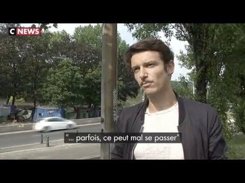 Reportage de CNEWS sur le crack à la Porte de La Chapelle