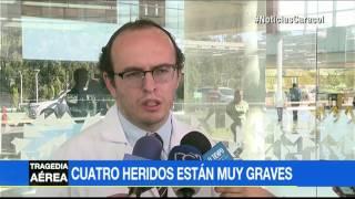 El milagro de dos de los sobrevivientes de la tragedia del Chapecoense