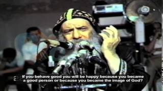 Pope Shenouda III sermon about The life with God
