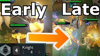 Early Knight Comp to Late Win Team Transition - Teamfight Tactics Ranked Game TFT Strategy Guide