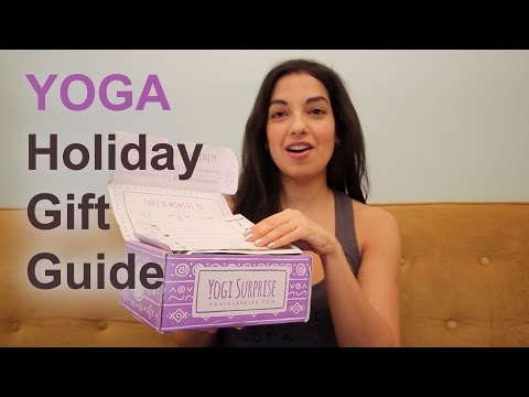 YOGA Holiday Gift Guide